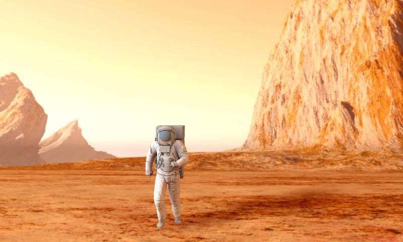 Czy będziemy gotowi umieścić ludzki ślad na Marsie za 15 lat?
