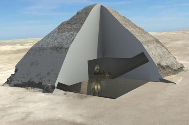 przekrój Piramidy